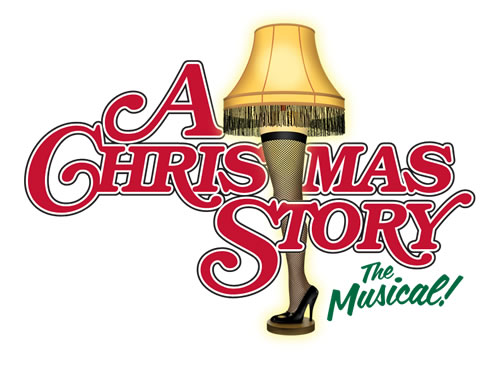 A Christmas Story The Musical Logo