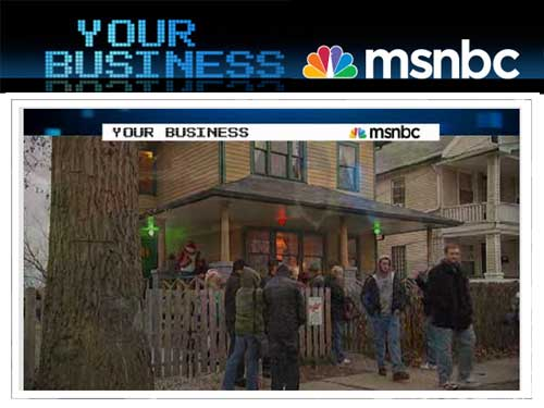 MSNBC Your Business A Christmas Story House