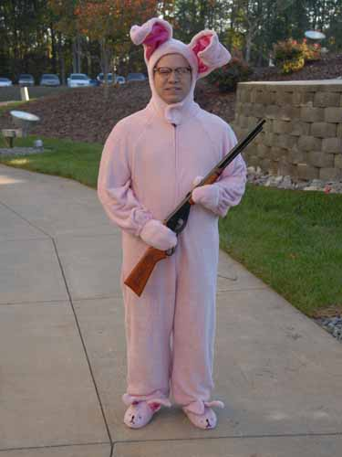 1459bc5098 TJ Johns in the Bunny Suit
