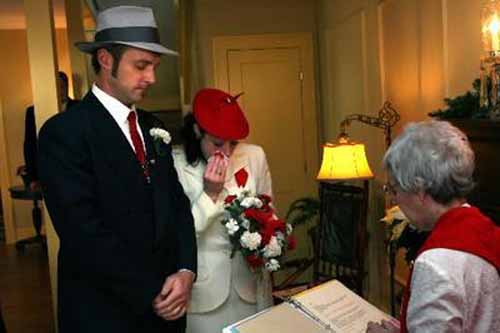 A Christmas Story House Wedding