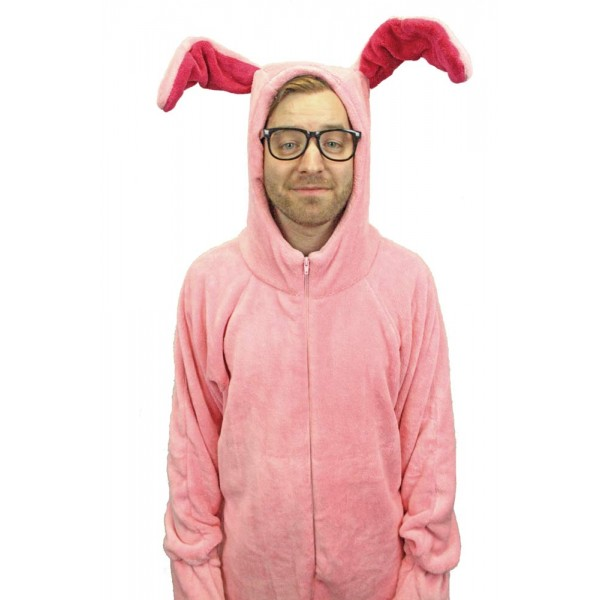 Pink Bunny Suits Pajamas | A Christmas Story House
