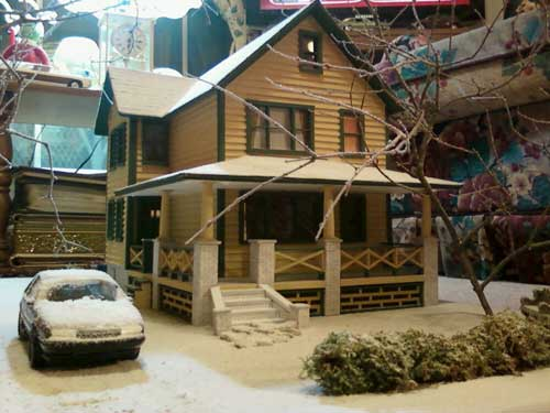 A Christmas story Miniature Doll House