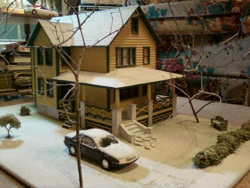 Christmas Story Doll House
