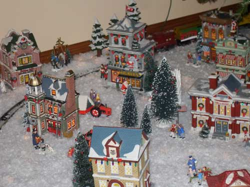 Dept 56 A Christmas Story Village