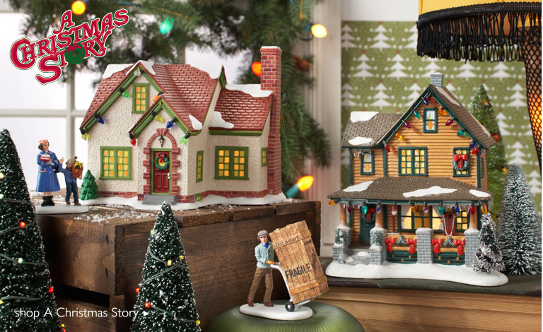 dept 56 a christmas story village 2012