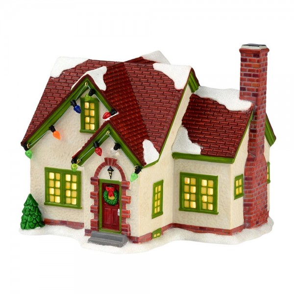 department 56 christmas story miss shields house - A Christmas Story Village