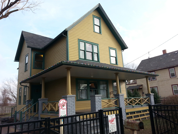 A Christmas Story House Visit
