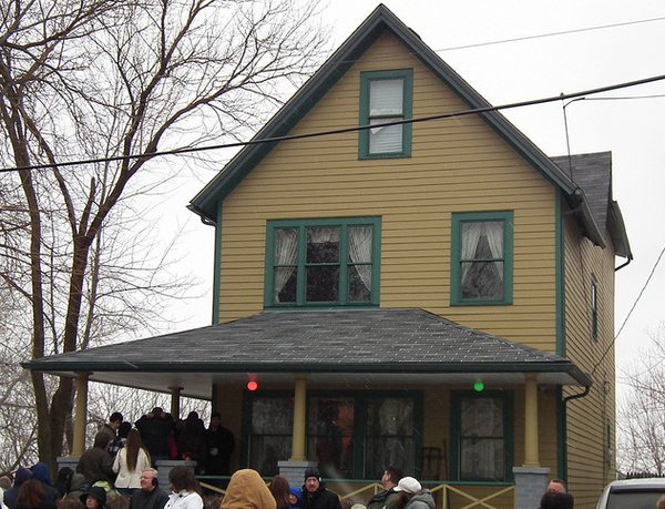 A Christmas Story House Cleveland Ohio