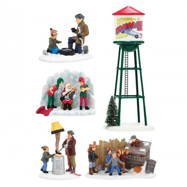 dept 56 christmas story 2014 all five