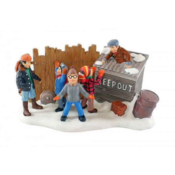 Dept 56 Bullies in the Alley A Christmas Story