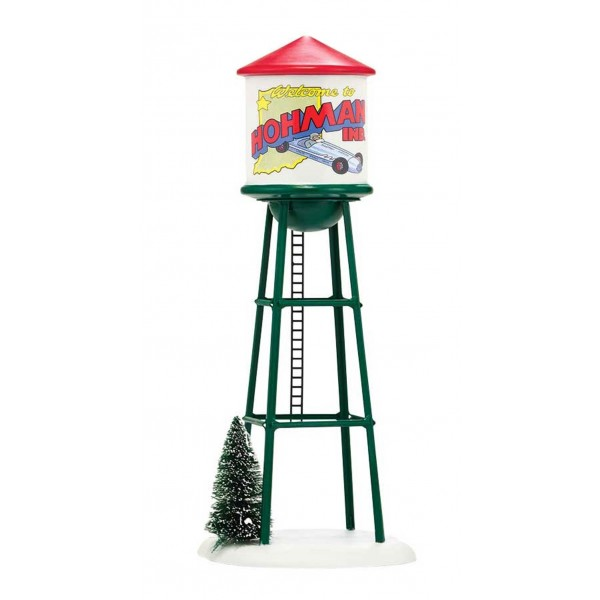 Dept 56 Hohman Water Tower A Christmas Story