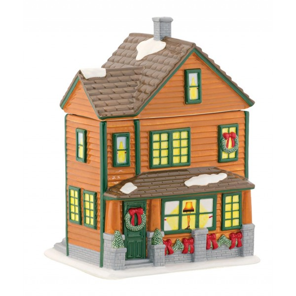Ralphie House Cookie Jar