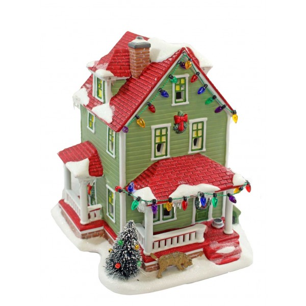 christmas story dept 56 rereleased exclusives bumpus house dept 56 - A Christmas Story Village