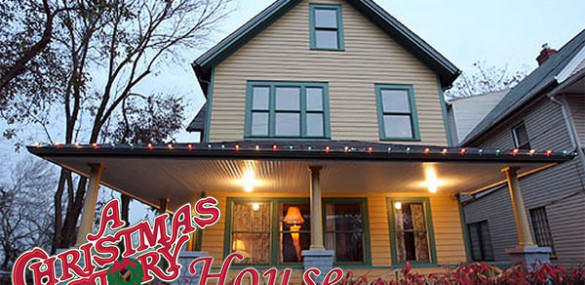 Couple spend night in 'A Christmas Story' house