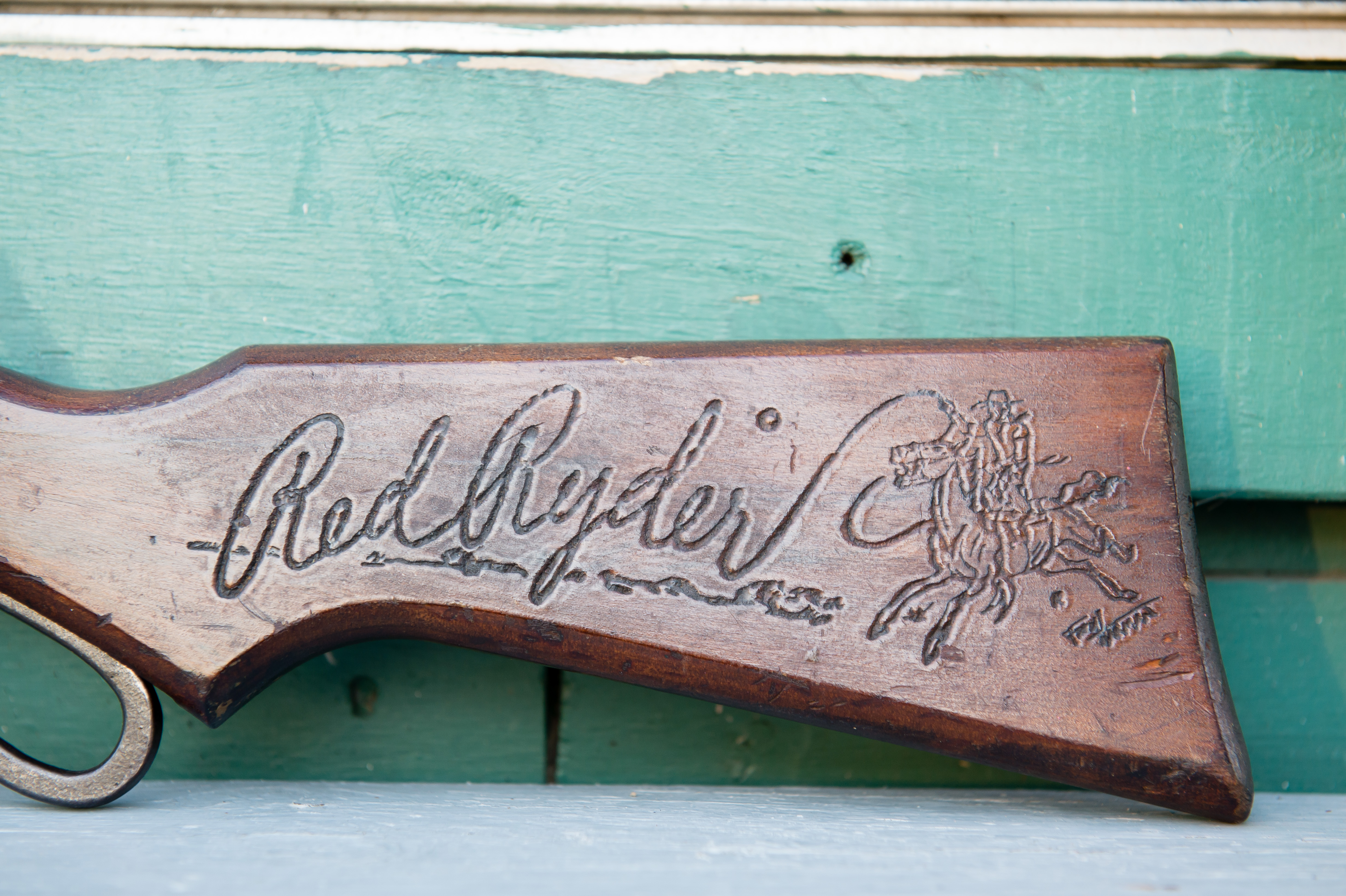 Red Ryder BB Gun Prop | A Christmas Story House