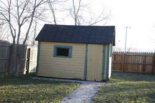 A Christmas Story House Shed