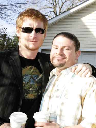 Zack Ward and Yano Anaya