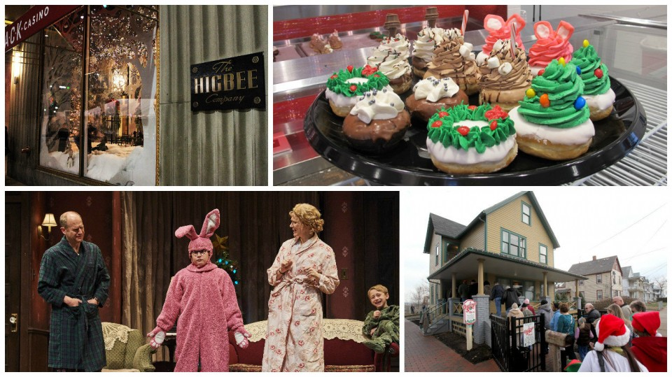 a christmas story cleveland tour the house the play the donuts higbees and more