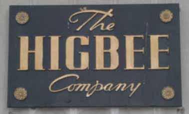 Higbee Company Sign