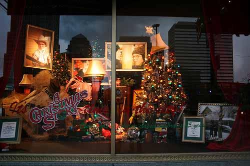 Higbee window a Christmas story