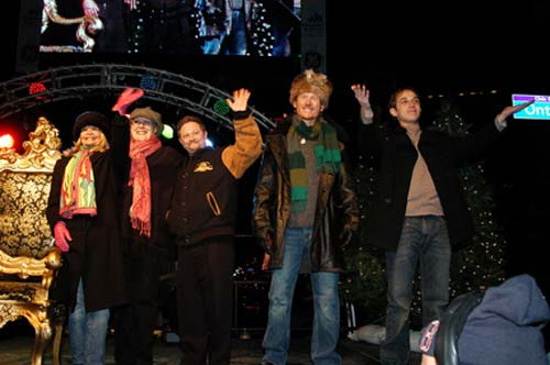 Cast of A Christmas Story on Stage during 2005 Winterfest