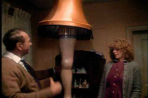 Leg Lamps From A Christmas Story.The Leg Lamp A Christmas Story House