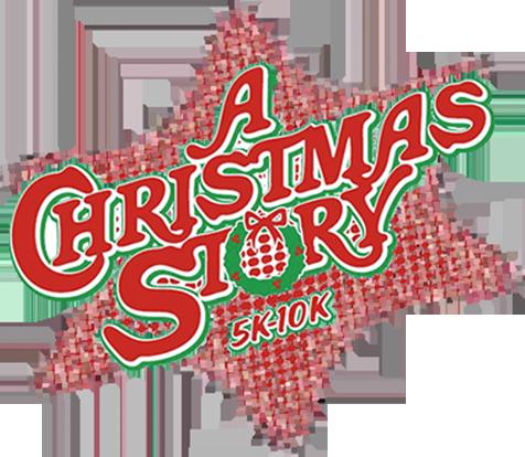 A Christmas Story Logo Vector.5k 10k Run A Christmas Story House