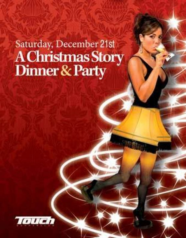 A Christmas Story Dinners And A Party Wear Those Fishnet Stockings