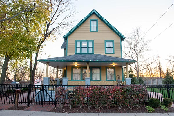 Christmas Story House.Christmas Stay Auction A Christmas Story House