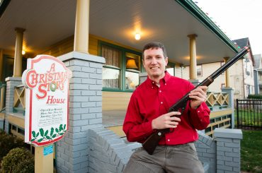Ralphie's Red Ryder BB Gun Comes Home to A Christmas Story House & Museum