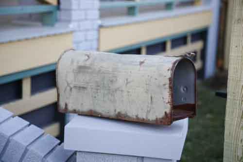 A Christmas Story House fmail box